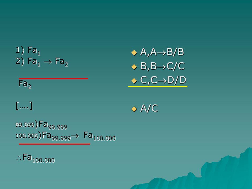 A,AB/B B,BC/C C,CD/D A/C 1) Fa1 2) Fa1  Fa2 Fa2 [….] Fa100.000